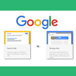 Search vs. Display Advertising